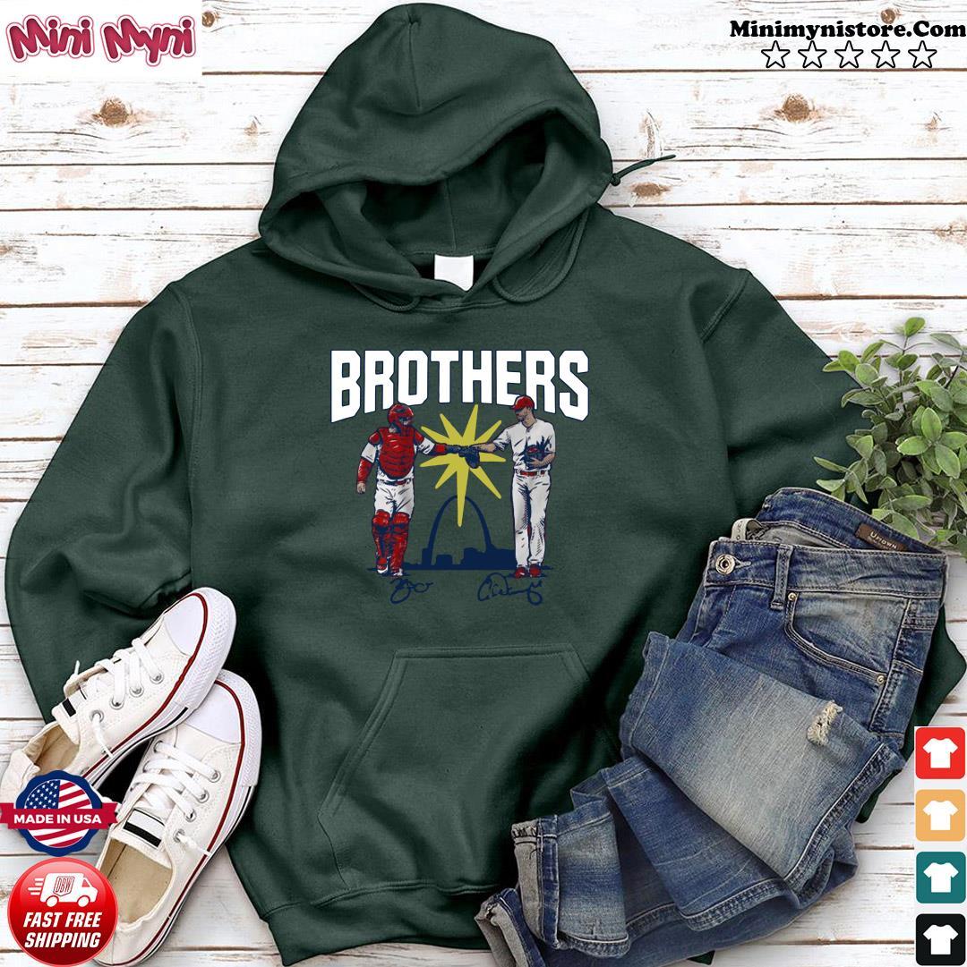 Wainwright and Molina Brothers Apparel St Louis Shirt Hoodie