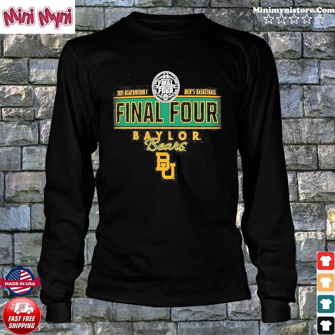 2021 NCAA Divisions Men's Basketball Final Four Baylor Bears BU s Long Sweater